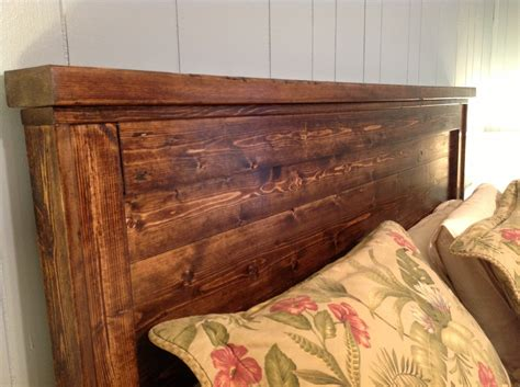 Wood Headboard Plans Queen