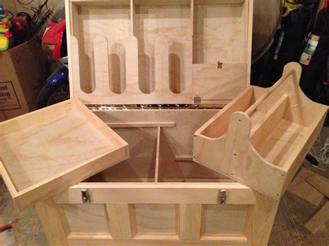 Wood Horse Tack Box Plans