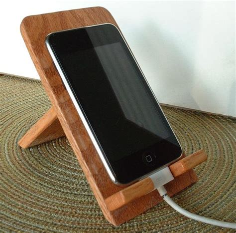 Wood Iphone Stand Diy