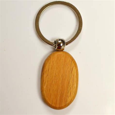 Wood Keychain Design Your Own