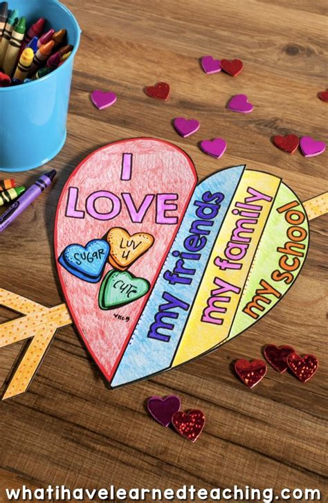 Wood Kids Art Projects For Valentines Day