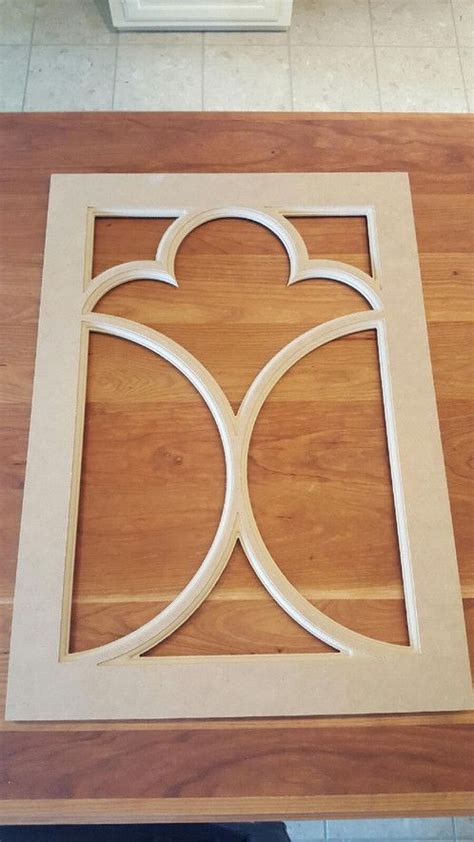 Wood Kitchen Cabinet Doors With Mdf Insert