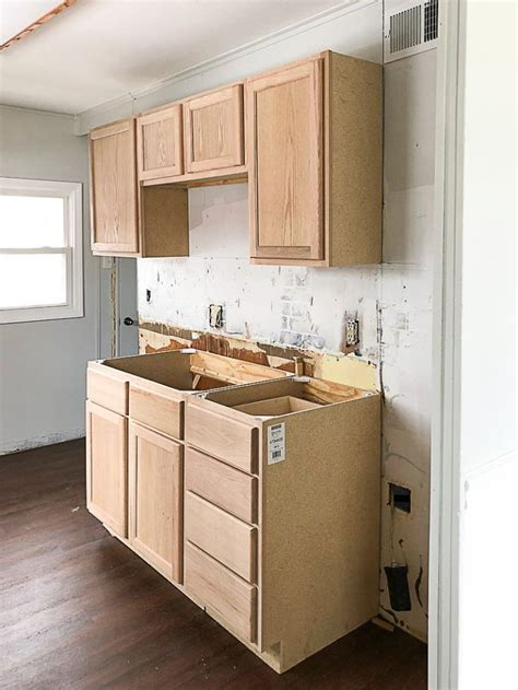 Wood Kitchen Cabinets Unfinished