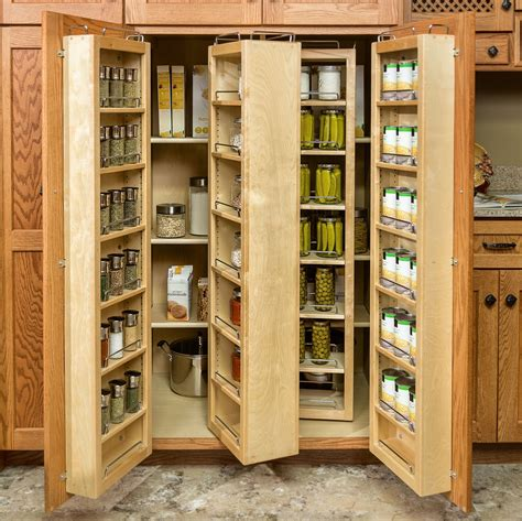 Wood Kitchen Storage Cabinets With Doors