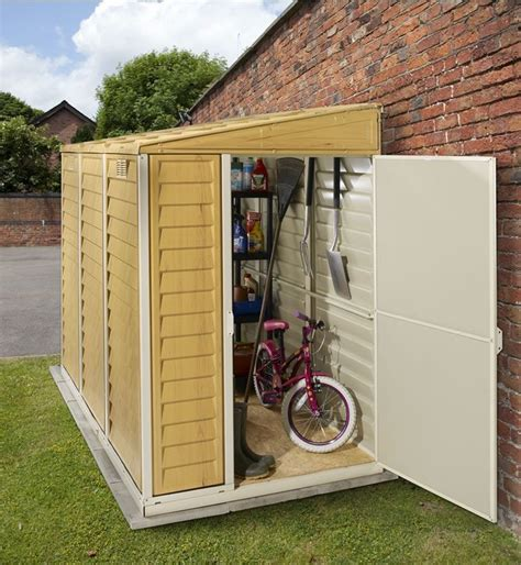 Wood Lean To Storage Sheds Plans