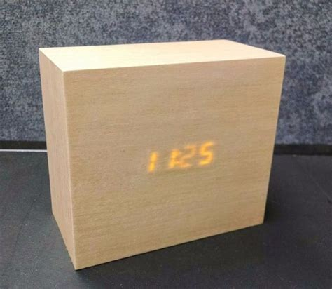 Wood Led Clock Diys