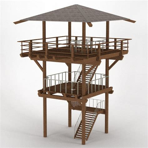 Wood Lookout Tower Plans