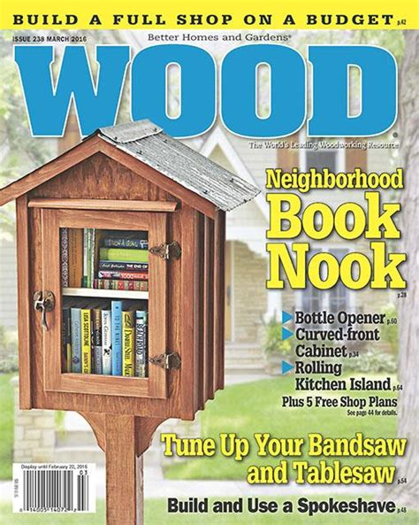 Wood Magazine March 2011