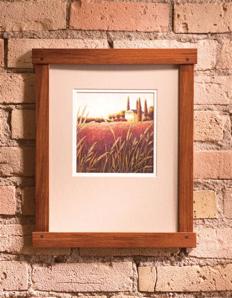 Wood Magazine Picture Frame Plans