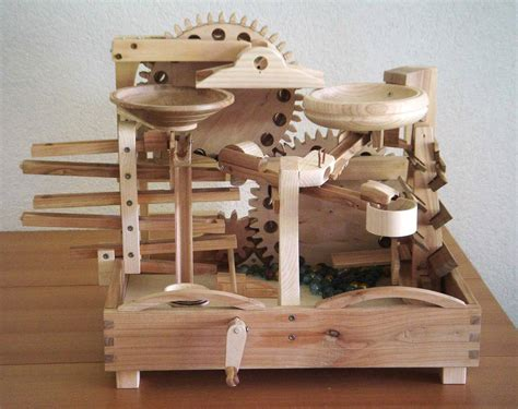 Wood Marble Run Plans