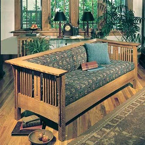 Wood Mission Chair Plans