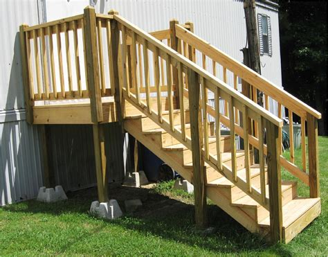 Wood Mobile Home Step Plans