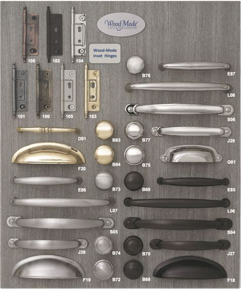 Wood Mode Cabinet Hardware