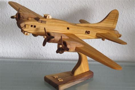 Wood Model Planes Stands