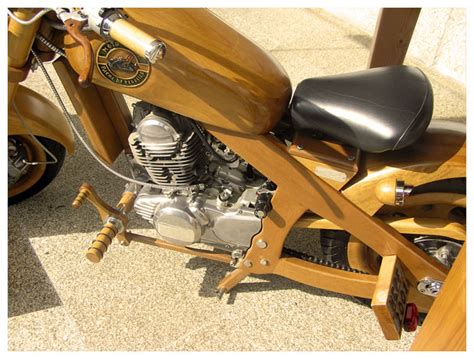 Wood Motorcycle Plans