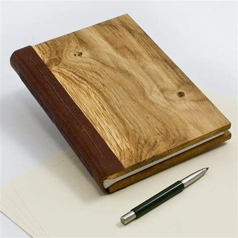 Wood Notebook Binding