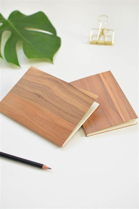 Wood Notebook Diy