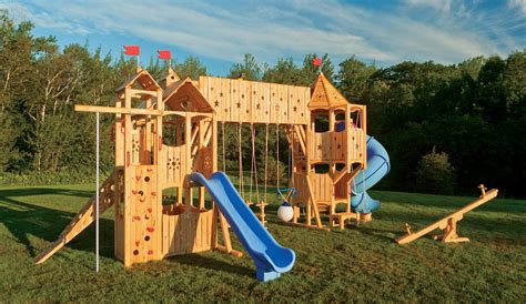 Wood Outdoor Playset Plans