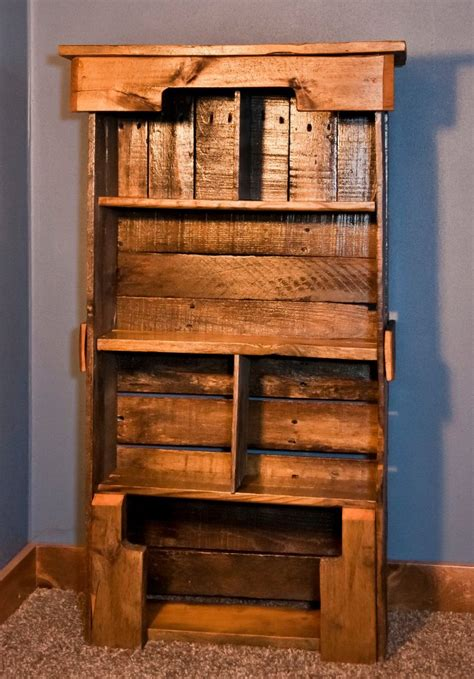 Wood Pallet Bookshelf Diy Plans