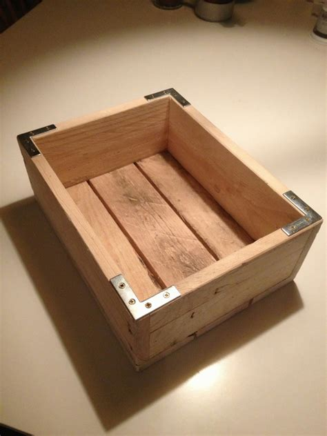Wood Pallet Box Diy Gift