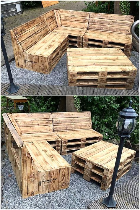 Wood Pallet Furniture Designs