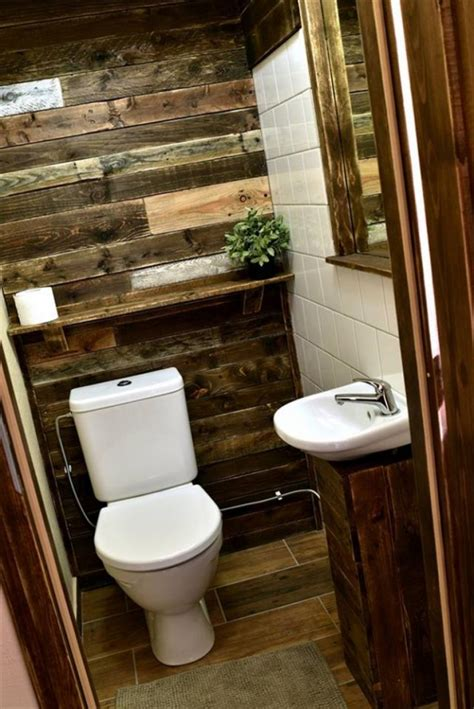 Wood Pallet Ideas For Bathroom