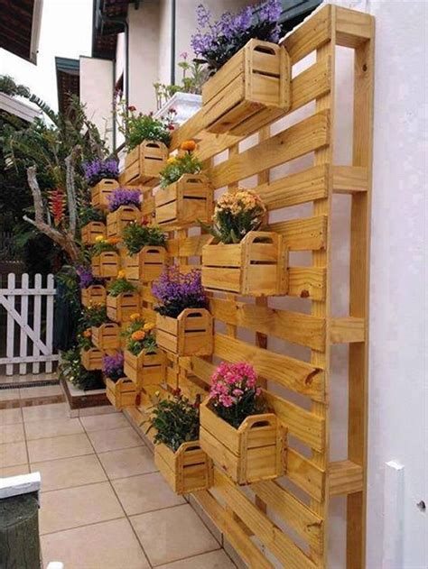 Wood Pallet Ideas For Plants