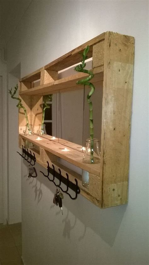 Wood Pallet Shelves Ideas