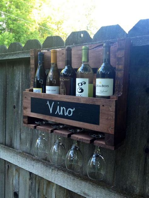 Wood Pallet Wine Rack Diy Designs