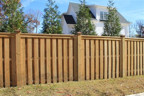 Wood Panel Fence Designs