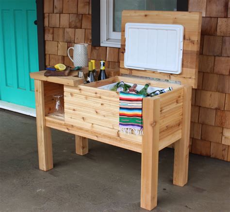 Wood Patio Cooler Plans
