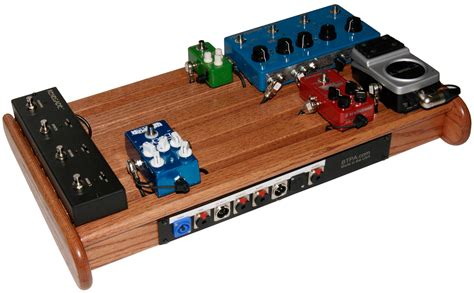 Wood Pedal Board Designs
