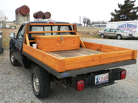 Wood Pickup Truck Bed Plans