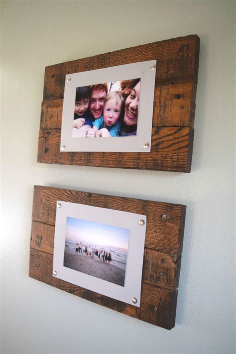 Wood Picture Frame Decorating Ideas