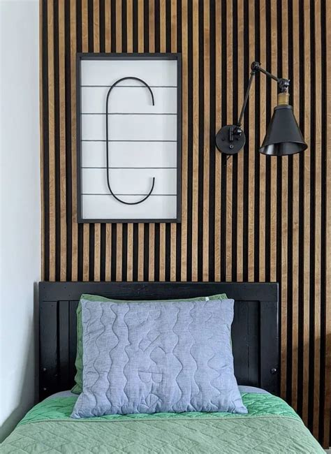 Wood Plank Accent Wall Diy Bike