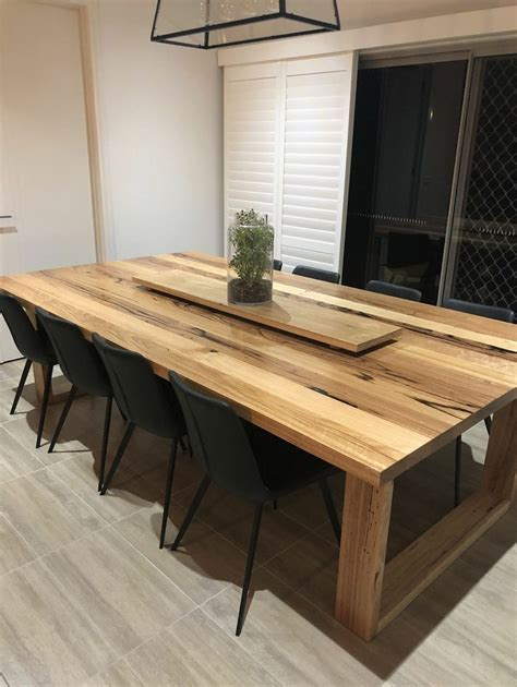 Wood Plank Kitchen Table Diy