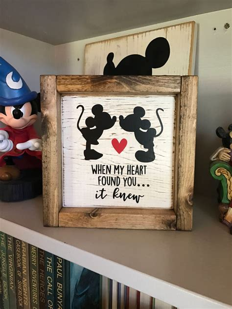 Wood Plank Sign Diy Disney