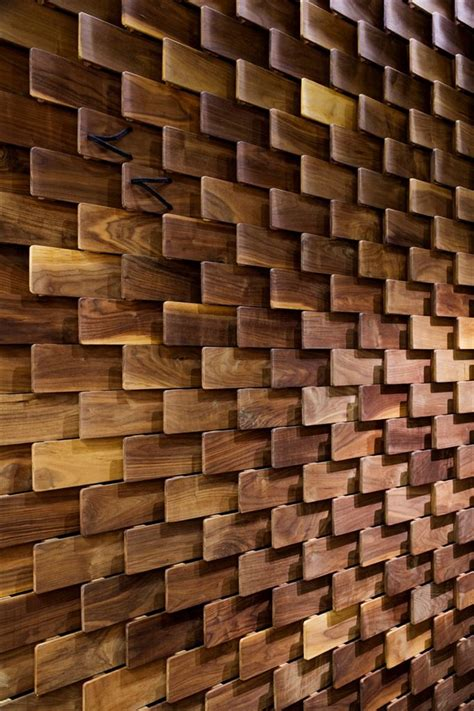 Wood Plank Wall Design