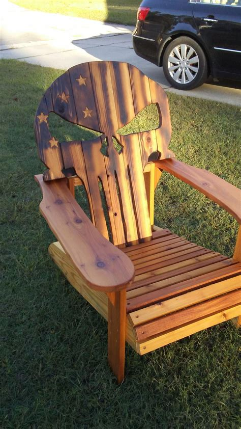 Wood Plans For Punisher Chair Let It Go