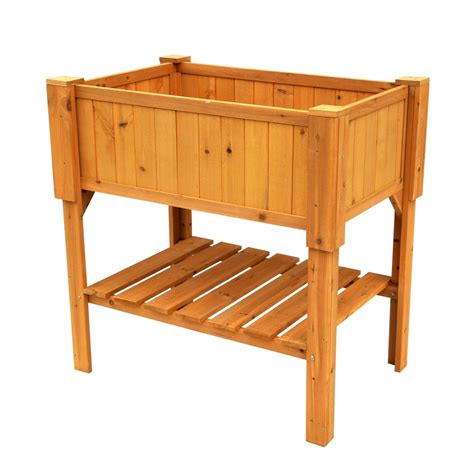 Wood Planter Box Lowes