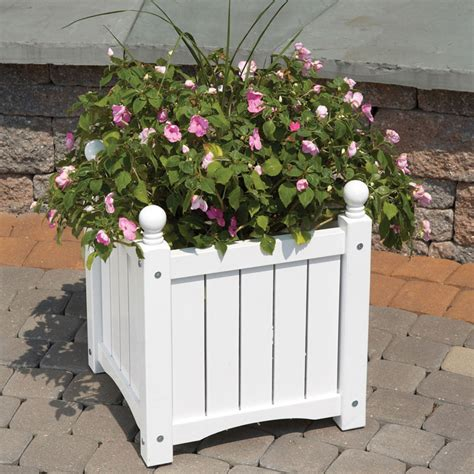 Wood Planter Box Square