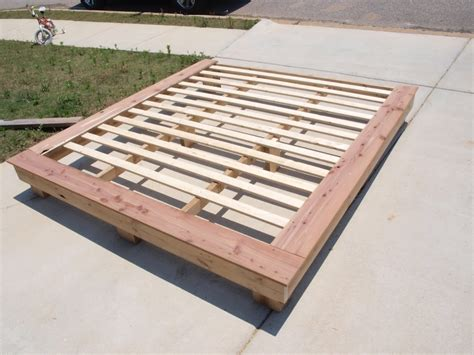 Wood Platform Bed Frame Plans