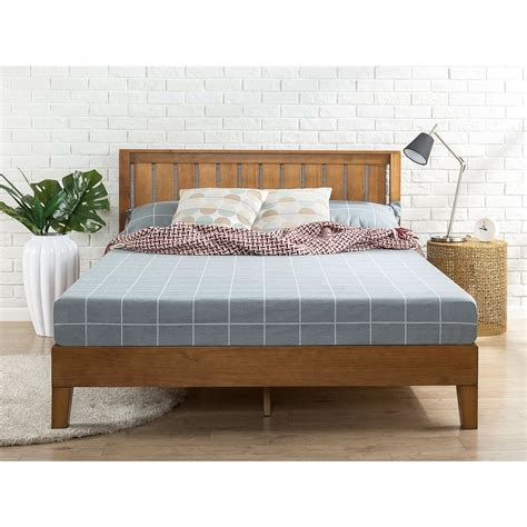 Wood Platform Bed Frame Queen Diy Costume