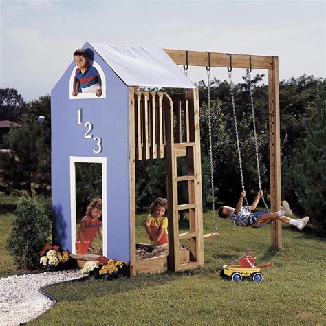 Wood Play Structure Plans
