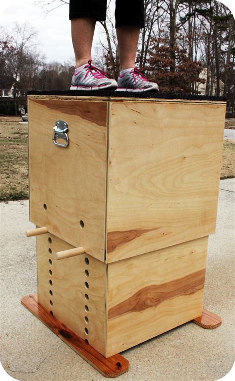 Wood Plyo Boxes Diy