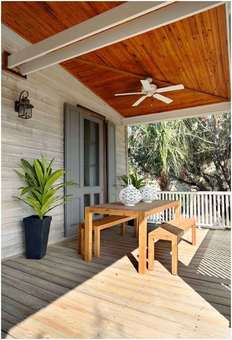 Wood Porch Ceiling Ideas
