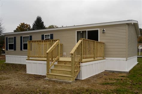 Wood Porch Plans For Mobile Homes
