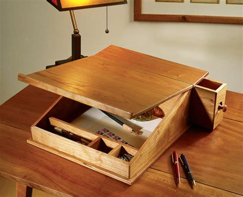 Wood Portable Writing Desk Plans