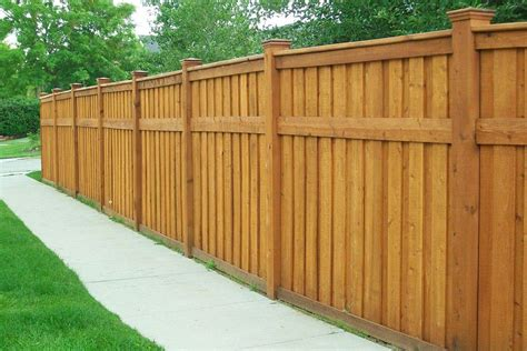 Wood Privacy Fence Design