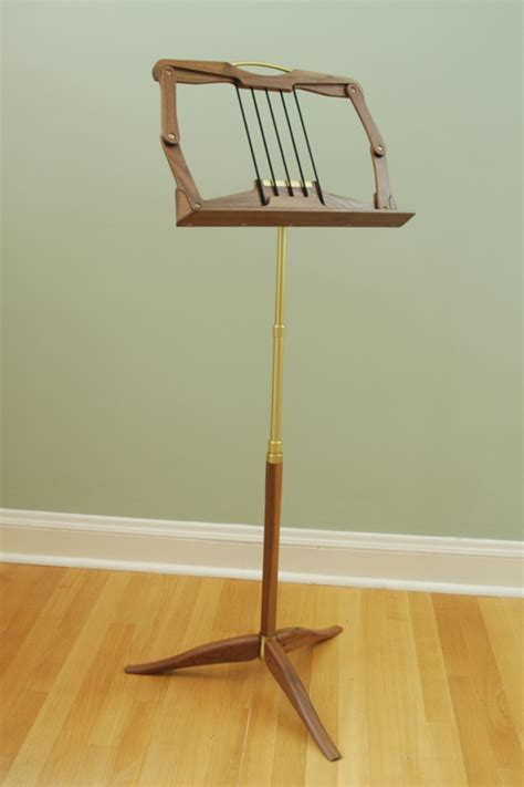 Wood Project Folding Music Stands